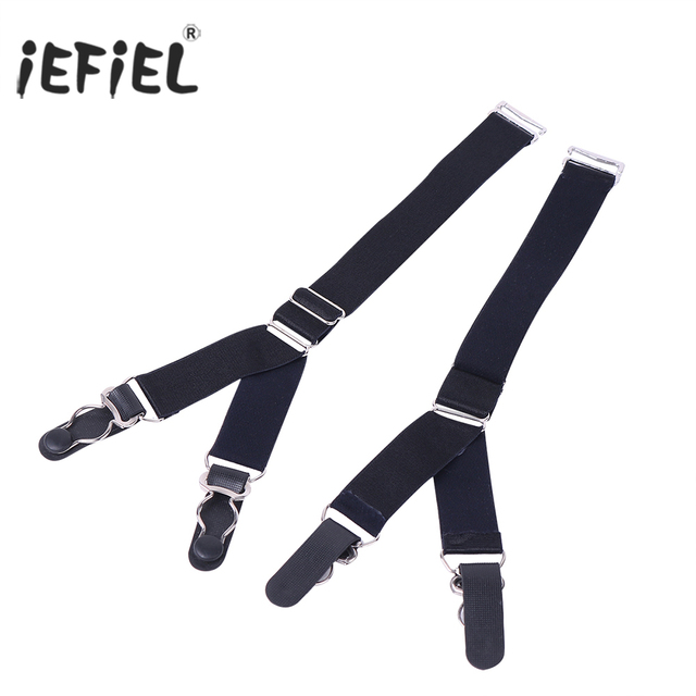 ceb24ff08f6 Straight Style   Y Style Elastic Garter Belts Corset Holders Stockings  Fastener Suspender with Duck-Mouth Metal or Plastic Clip