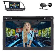 8 inch for Hyundai Android 7.1 Quad Core Car Stereo Radio Head Unit GPS Support 3G/4G Steering wheel control Bluetooth+Camera