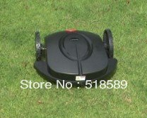 robot lawn mower/automower grass cut height: 2.5-6.5cm auto work/recharge,with remote control/ultrasonic radar Home Appliances