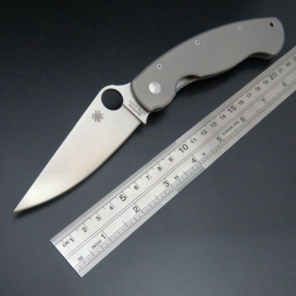 New Arrival C36 Titanium font b Tactical b font Folding font b Knife b font CPM