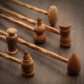High quality hand made solid wood massage stick Made of high quality wood Are cheaper Suitable for the masses  /150801