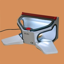 High Quality Dental Lab Equipment Dental Sandblasting Cabinet with Removable Arm Rest with Dust Free Operation