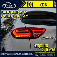 AKD Car Styling Tail Lamp for Mazda CX 5 Tail Lights CX5 LED Tail Light LED Signal LED DRL Stop Rear Lamp Accessories