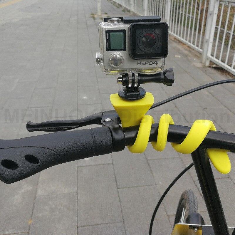 Lerbyee Banana Pod Car Phone Holder Flexible 360 Degree Adjustable Car Mount Holder Camera Tripod Stick for Camera Smartphone