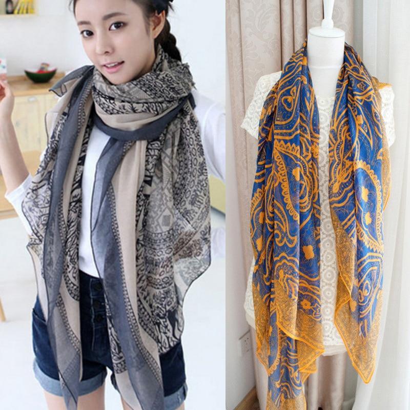 New Fashion Women   Scarves   Soft Silk Floss Scarfs   Wrap   Shawl Stole Scarve Pashmina Xmas Gift Shawls Bandana Hijab Foulard Bufanda