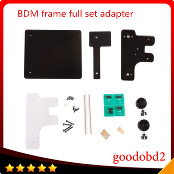BDM FRAME With Full Adapters For BDM100 Working Together Fits For Original FGTECH FG Galletto/ Ktag/ Kess ECU Chip Tuning Tool new copper pin bdm frame tester full set for bdm100 cdm kess v2 ktag fgtech master chip turning ecu programming tool