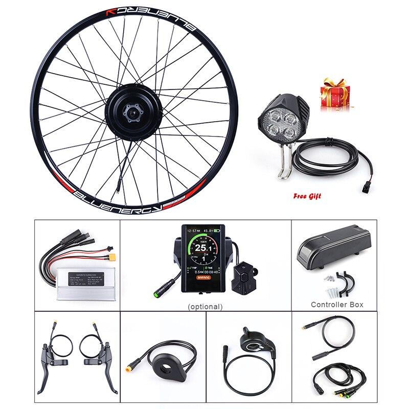 Ebike Rear Wheel Bafang 48V 500W 9 Speed Hub Motor Kits DC Cassette Flywheel E bike