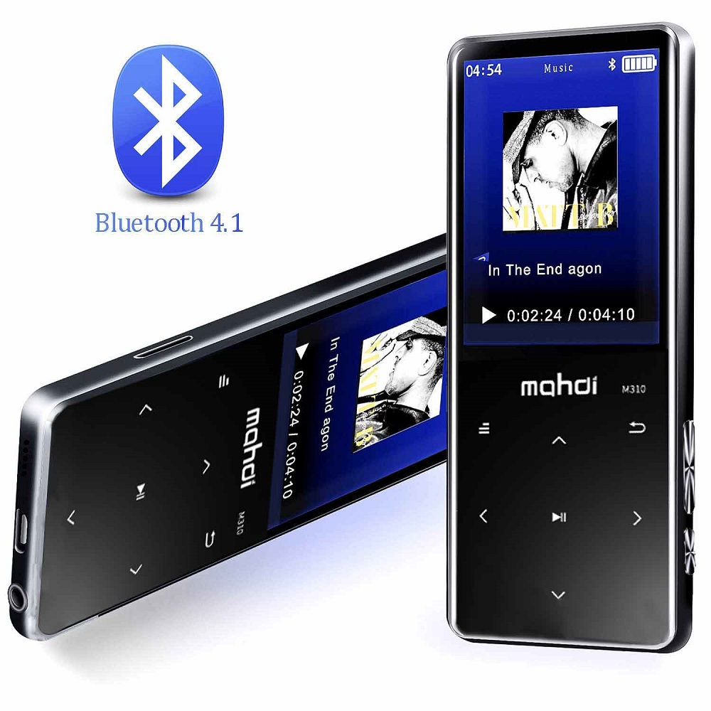 Tf Karte Gewidmet Mp3 Player 8 Gb Bluetooth4.1 Musik Player 2,4 Zoll Hd Lcd Display Tragbaren Player Mit Lautsprecher Digital Fm Radio E-buch