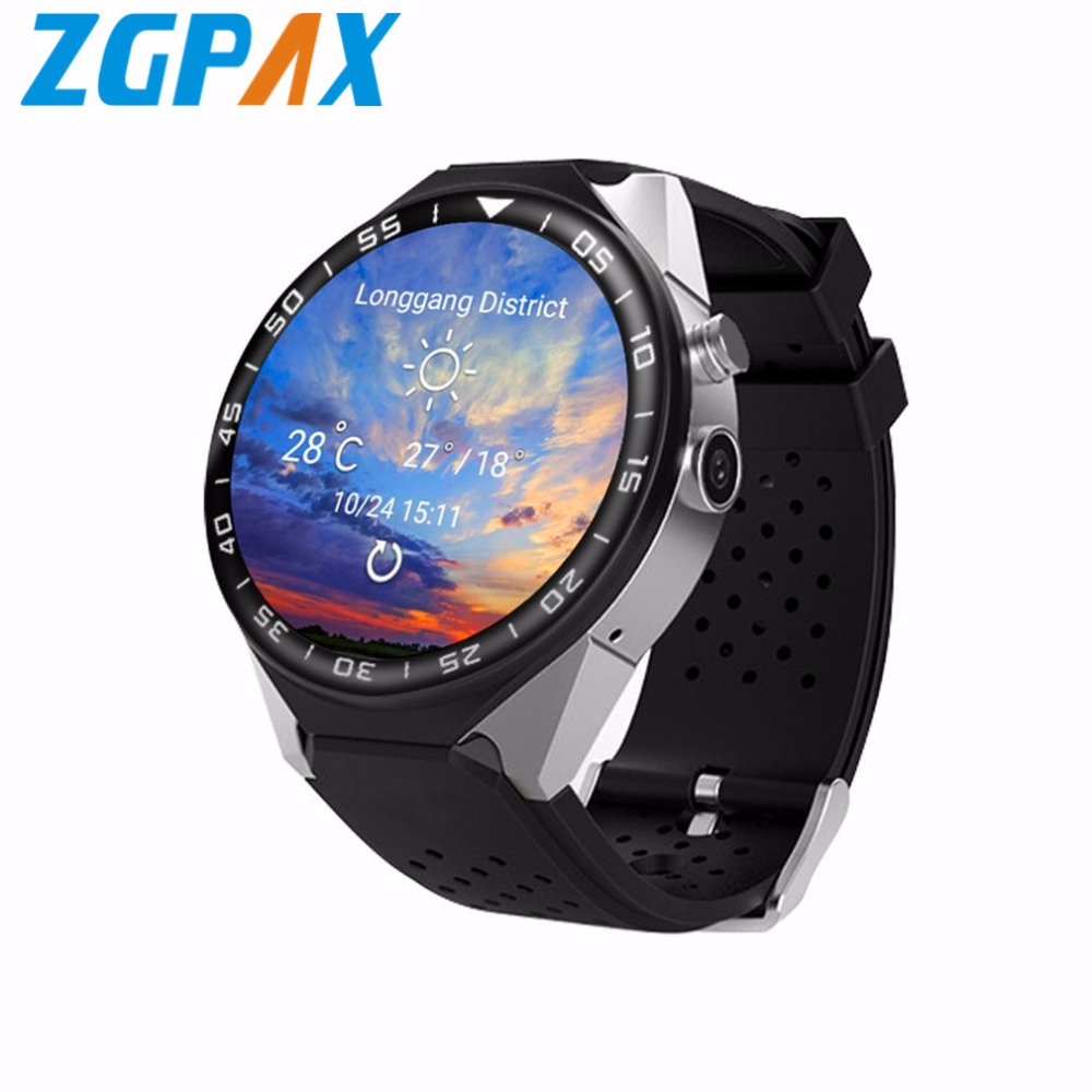ZGPAX  S99C android 5.1 OS Smart watch electronics android 1.39 inch MTK6580 SmartWatch phone support 3G wifi nano SIM WCDMA