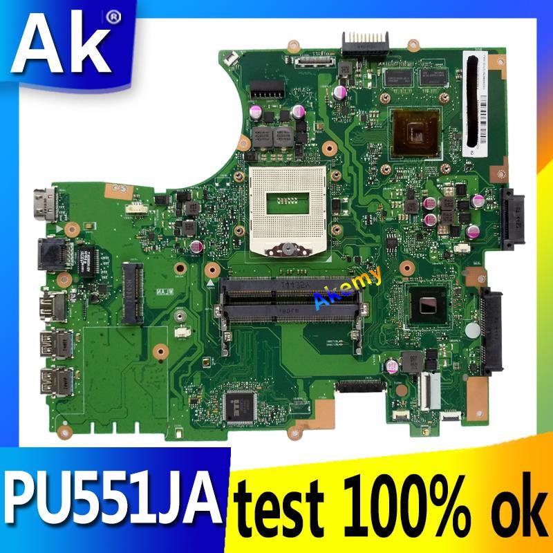 AK For ASUS PU551JA PU551 PU551J PRO551J laptop motherboard tested 100% work original mainboardAK For ASUS PU551JA PU551 PU551J PRO551J laptop motherboard tested 100% work original mainboard