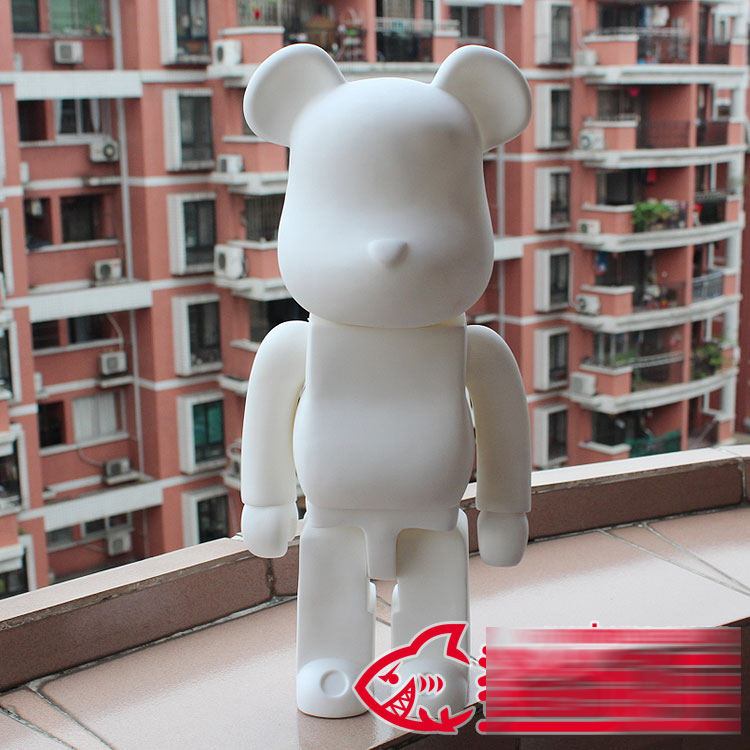 1pc Limited Bearbrick Be@rbrick DIY Painting 52CM Dolls Birthday Gifts PVC Action Figure Toy 52cm Vinyl Art Figure new hot christmas gift 21inch 52cm bearbrick be rbrick fashion toy pvc action figure collectible model toy decoration