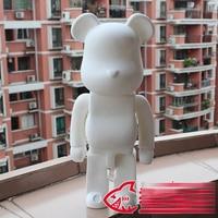 1pc Limited Bearbrick Be@rbrick DIY Painting 52CM Dolls Birthday Gifts PVC Action Figure Toy 52cm Vinyl Art Figure