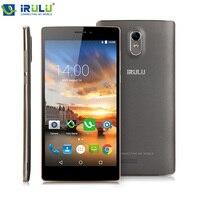 IRULU Zafer V3 MSM8916 Quad Core 6.5 Inç IPS Ekran Google GMS test 16 GB ROM Android 5.1 4G Çift SIM FDD LTE Akıllı Telefon
