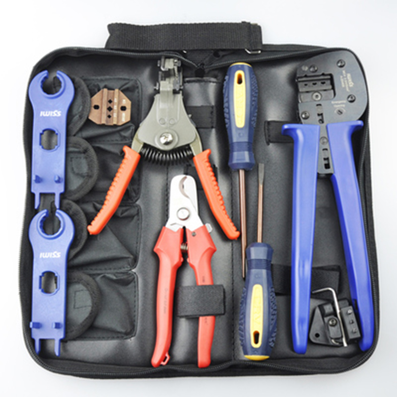все цены на  Free shipping by DHL 1Pcs Solar Crimping Tools Pv Connector Wire Crimpers Solar terminal crimping tool 2.5-6mm2  онлайн
