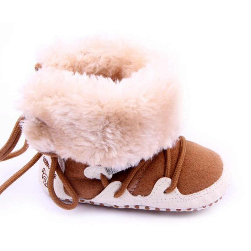 2017-Baby-Shoes-Winter-Warm-Snow-Boots-Fleece-Soft-Soled-Crib-Toddler-Sneakers-First-Walkers-New-3
