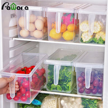 Food Storage Containers with Lids and Handles Sealed Food Crisper Keep Fresh Fridge Organizer Freezer Refrigerator Storage Box(China)
