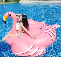 Air Mattresses Inflatable Giant Pegasus Flamingo Floating Rideable Swimming Pool Toy Float Raft for Diving Swimming Colorful