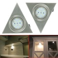 Free Shipping NEW Hot Ultra Thin Design 3W LED Ceiling Recessed Grid Downlight / Triangle Panel Light