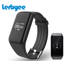 Lerbyee Fitness Tracker Smart Bracelet Real-time HR Fitness Bracelet Sleep Tracker Waterproof IP67 Activity Tracker for Android