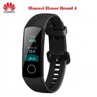 2019 huawei Honor Band 4 Стандартный Смарт Браслет 0,9 цветной сенсорный экран водостойкий плавание сердечного ритма сна трекер