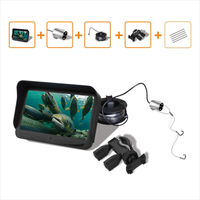 Visible 720P Real Time Underwater Camera 4 3 Inch LCD Monitor 30M Cable IR Night Vision