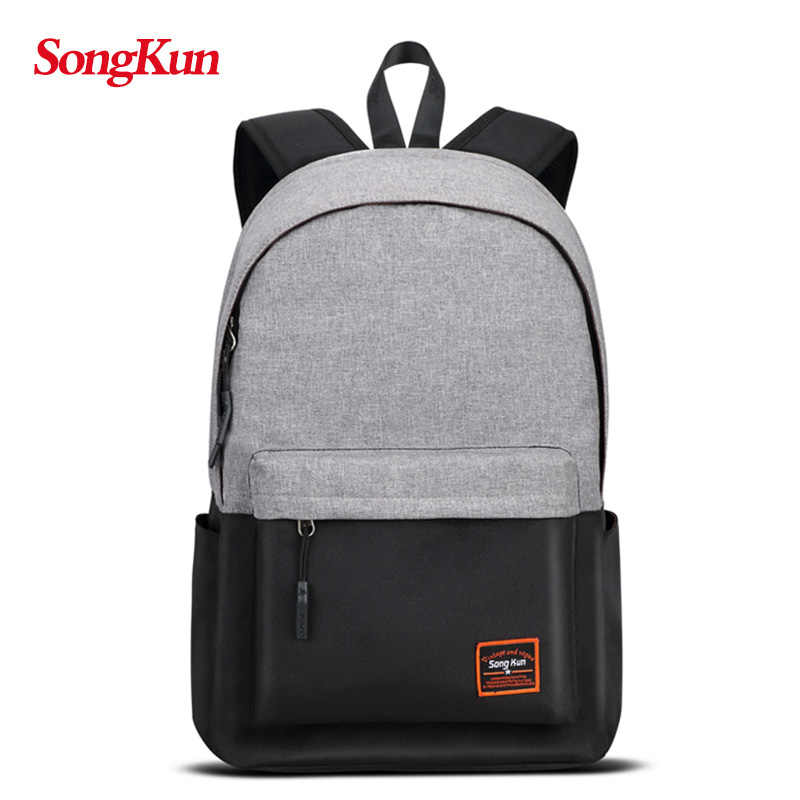 SongKun Brand Fashion Multifuctional Laptop Backpack Men Travel Bag Women School Bags For Girls Female Backpack High Capacity