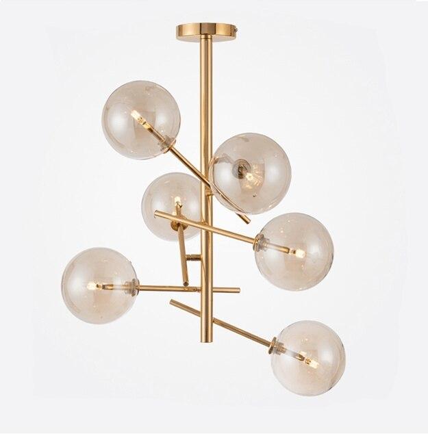 Post Modern Creative Designer Restaurant Art Pendants Individual New Glass  Ball Magic Modo Pendant Lamp