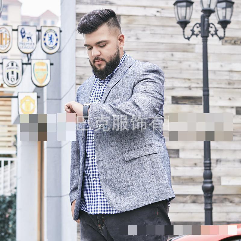 2019 새로운 여름 슈퍼 큰 9xl 정장 남자 자 켓 캐주얼 패션 높은 품질 단일 브레스트 블레 이저 남자 플러스 크기 XL 6XL7XL8XL9XL-에서블레이저부터 남성 의류 의  그룹 1