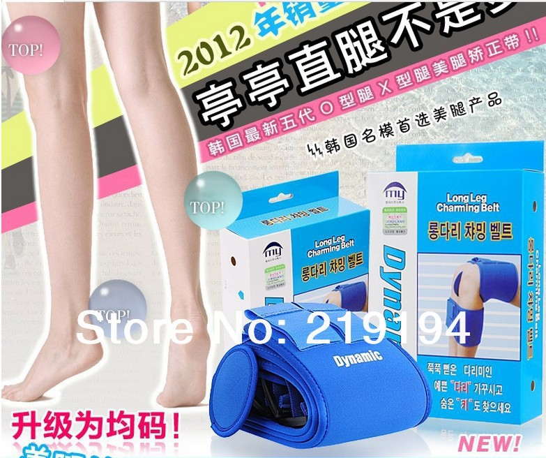 O / X style legs treatment - beauty legs elastic band leg belt correction system free size long leg charming belt free size o x form legs posture corrector belt braces