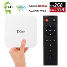 Android 7 1 Smart font b TV b font font b Box b font Amlogic S905W