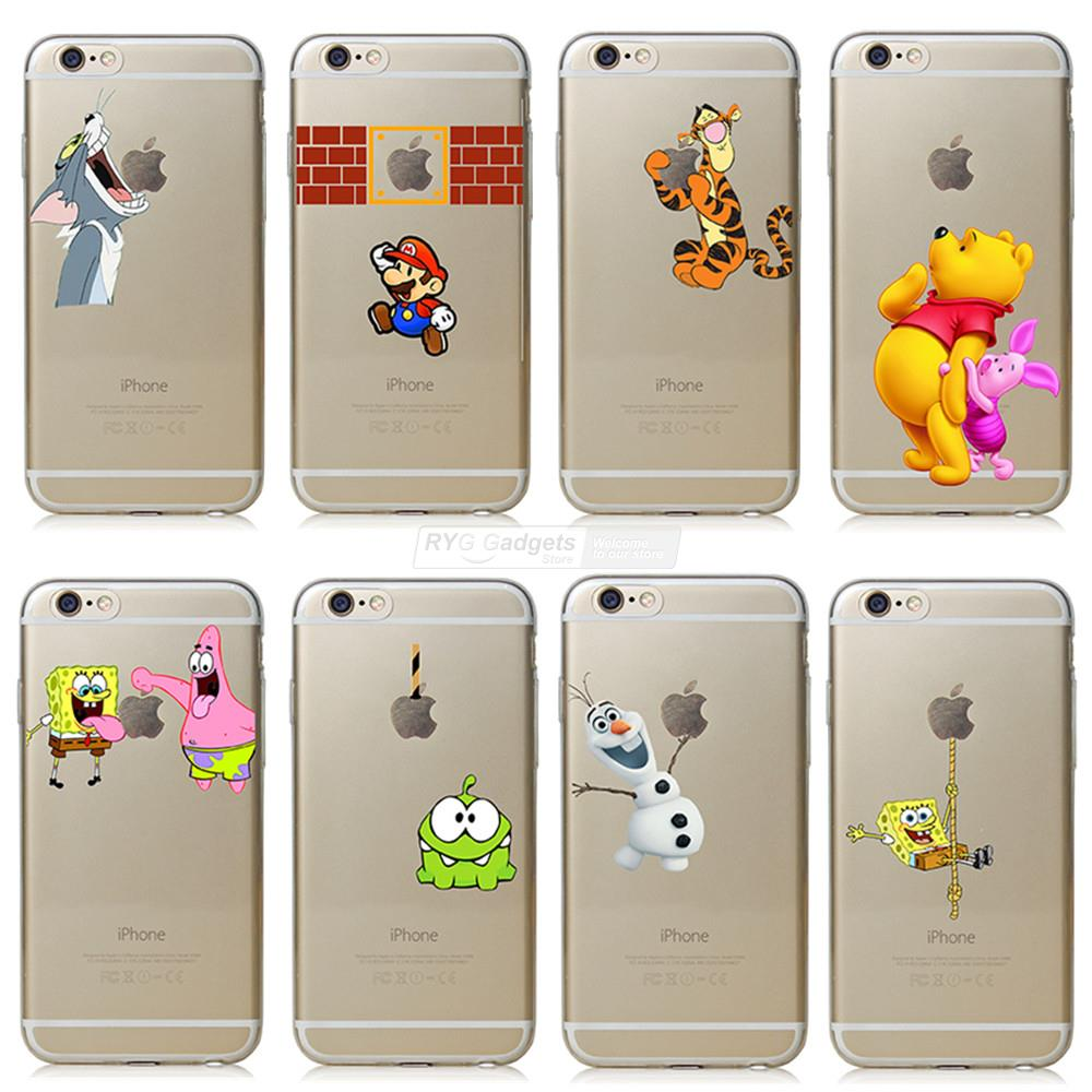 iphone 6 phone covers fundas for apple iphone 6 6s transparent grasp 3077
