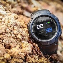 ELENXS ЖК-оповещение здоровье трекер спящий/сердцебиение тестирование IP68 Водонепроницаемые спортивные Смарт-часы