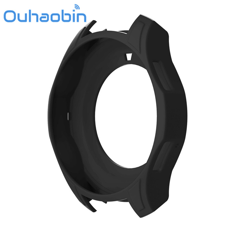 Ouhaobin New High Quality Silicon Slim Smart Watch font b Case b font Cover For Samsung