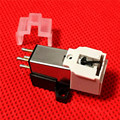 Newest Phonograph Pickup Stylus Gold-plated phonograph needle Cartridge Mounting screws Exquisite packaging Sound connector