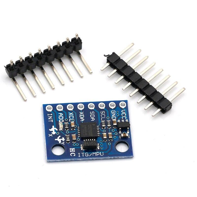 5PCS MPU-6050 Module 3Axis Gyroscope+Accelerometer Module Fit Arduino MPU 6050 H