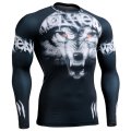 3D Full Prints Man's Compression Tight T-shirts MMA Excise& Fitness Long Sleeves Top Shirt Crossfit