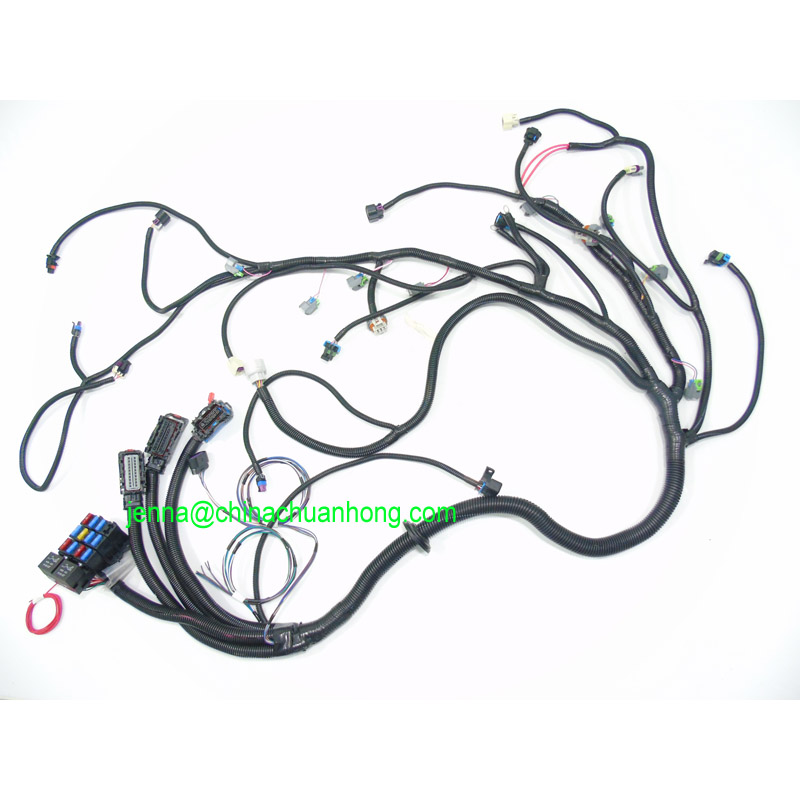 US $599.0 |Free shipping 2008 2014 Corvette Camaro G8 LS3 Engine wire on