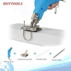 Electric Hot Foam Sponge Cutter Knife Carving Styrofoam Grooving  Slotting Cutting Tool Kit Blade Hot Cutting Air-cooling