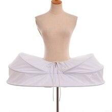 Enagua histórica victoriana crinolina Underskirt Vintage rococó Medieval mujeres jaula Bustle falda para vestidos de baile Colonial