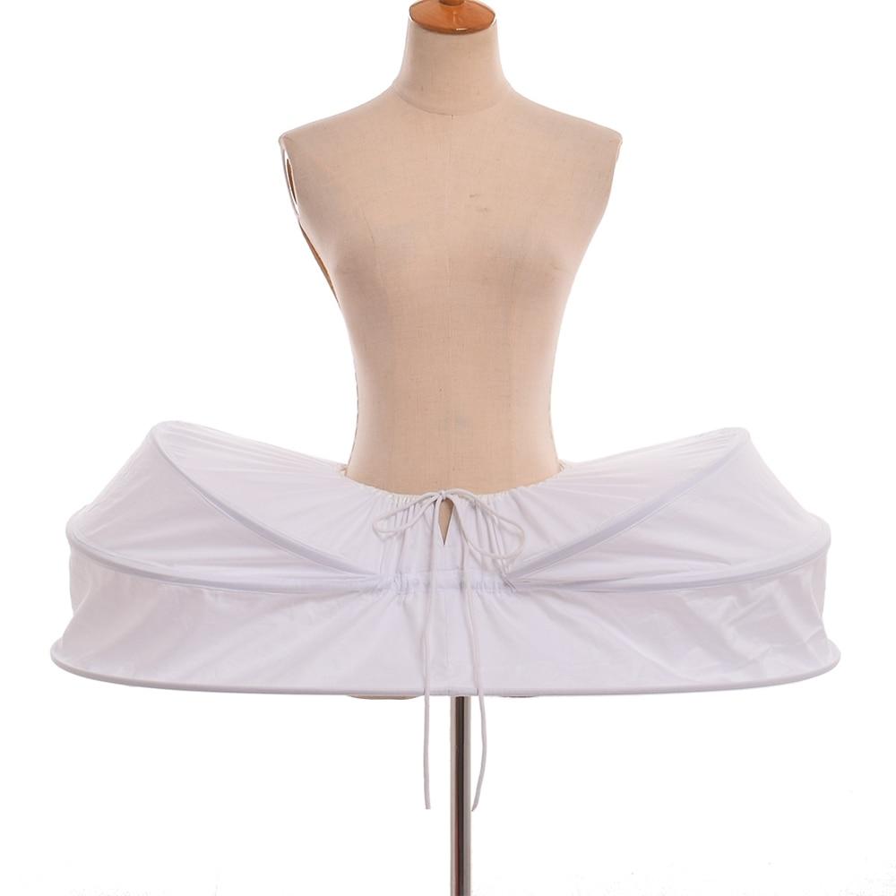 Vintage Rococo Crinoline jupon sous-jupe robe médiévale femmes victorienne Cage agitation jupe pour robes de bal coloniales