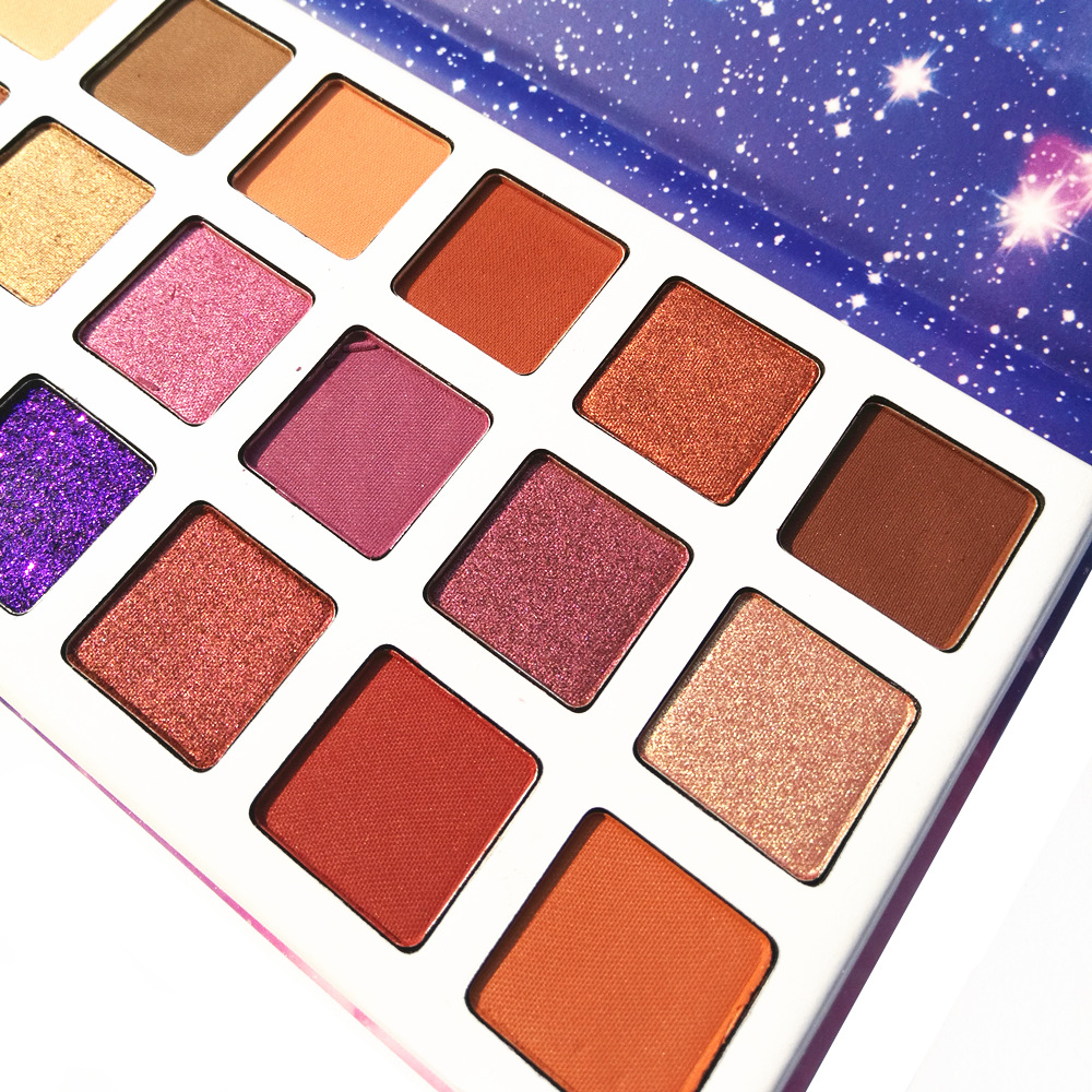 DGAFO 18 Colore In 1 Shimmer Matte Palette di Trucco Ombretto Professionale Marca Make Up Maquillage Eye Shadow Palette