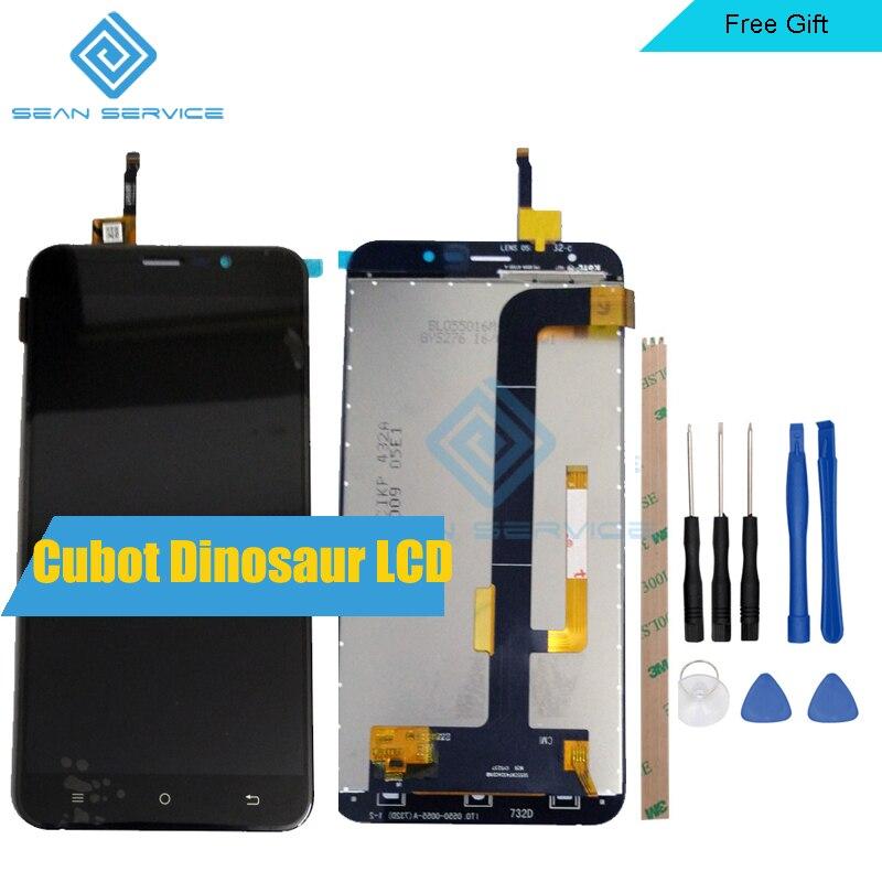 5.5 pouces Pour Cubot Origine Dinosaure LCD Affichage et Écran Tactile Digitizer Assemblée 1280X720 Outils + Adhésif dans Stock