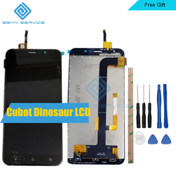 5.5inch For Original Cubot Dinosaur LCD Display and Touch Screen Digitizer Assembly 1280X720 Tools+ Adhesive in Stock