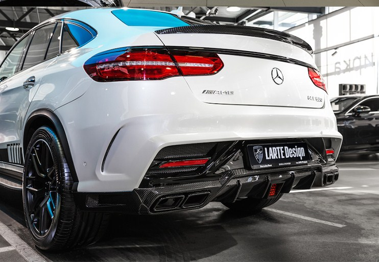 Mercedes Ms 350 >> For Mercedes gle coupe Spoiler Benz gle class carbon fiber rear trunk spoiler W166 GLE63 AMG GLE ...