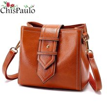 Genuine Leather Women Messenger Bags Tassel Crossbody Bag Female Fashion Shoulder Bags for women Clutch Small Handbags new T18(China)