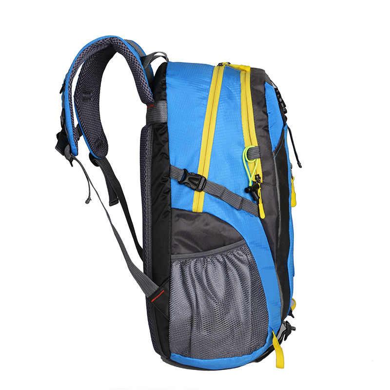 Erkekler sırt çantası erkekler sırt çantası Oxford su geçirmez sırt çantası dağcılık seyahat çantaları büyük kapasiteli sırt çantası Trekking çanta