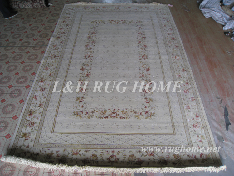 Ücretsiz kargo 6.56 'X 9.85' 160 Hattı El düğümlü Farsça - Ev Tekstili
