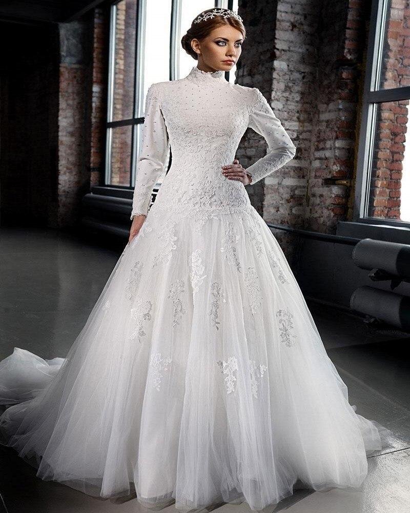 Popular Islamic Wedding Gowns-Buy Cheap Islamic Wedding
