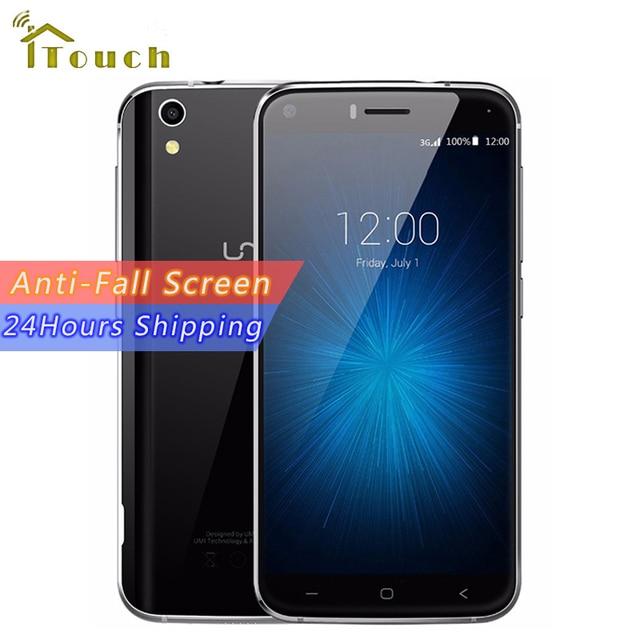 Original Umi London 3G Smartphone MTK6580 Quad Core 1.3Ghz 5.0 Inch HD Screen 1G RAM 8G ROM 8MP Camera Android 6.0 Mobile Phone