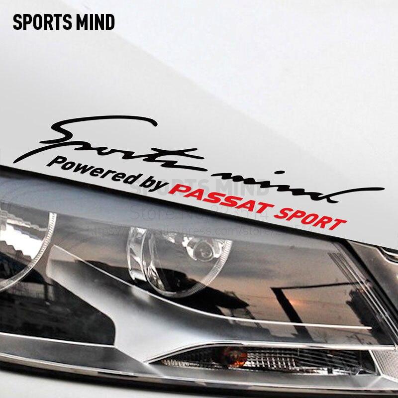 Sports Mind Car Styling On Car Lamp Eyebrow Automobiles Car Sticker For vw volkswagen passat b5 b6 b7 exterior accessories free ship turbo k03 29 53039700029 53039880029 058145703j n058145703c for audi a4 a6 vw passat 1 8t amg awm atw aug bfb aeb 1 8l